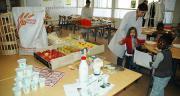La restauration collective est un levier possible de développement de la consommation de produits locaux. Photo : N. Tiers/Pixel image