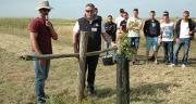 La journée Cultures et fourrages bio à Couffé (44) a réuni 190 éleveurs et étudiants. Photo : M.-D. Guihard/Pixel image