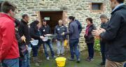 Des éleveurs d'Ille-et-Vilaine ont participé avec intérêt à l'atelier de la canadienne Déborah Santschin.