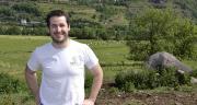 Alexis Meironen préside le réseau Bienvenue à la ferme du Cantal et est aussi vice-président de l'association Ferm'drive 15. Photo : M.Ballan/Pixel image