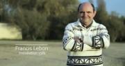 Francis Lebon, éleveur de porcs fait également des céréales, le tout sur une surface de 220 hectares...