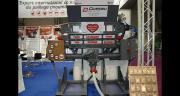 Le système de distribution Cœur éco paille et fourrage, dont un prototype était présenté pendant toute la durée du Space, conjugue simultanément le paillage et la distribution des aliments et de tous les fourrages. CP : D. Bodiou/Pixel6TM