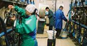 Le nombre global d'élevages adhérents au Contrôle Laitier a de nouveau reculé en 2016, tout comme le nombre de lactations qualifiées. Photo : L Gueneau/Cniel