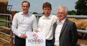 En juin 2013 à La Ferrière en Vendée, Mathieu Staub (directeur), Mickaël Bazantay (président) et Guy Merieau (vice-président) présentaient l'union Bovinéo.