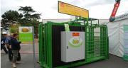 Autonome et destinée à un usage extérieur, la cage de pesage de Maréchalle a été imaginée à la demande de Bovins croissance.
