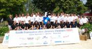 30 jeunes sont formés chaque année à l'Ecole française des jeunes éleveurs. Photo : N. Tiers/Pixel image