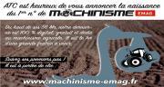 Le n°1 de Machinisme Emag est disponible!