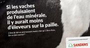 Sanders lance une campagne de communication pour soutenir les éleveurs français. © Sanders