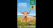 Haute, une vache aubrac de l'élevage de Thibault Dijols est l'égérie du prochain SIA. Photo : DR