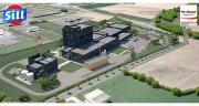 La nouvelle usine démarrera de manière progressive d'ici la fin février en vue de sortir les premières boîtes de poudre de lait en septembre. ©DR