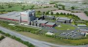 Implantée à Carhaix dans le Finistère, l'usine de fabrication de poudre de lait infantile transformera près de 285 000 tonnes de lait entier par an.