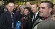 «Il n'est plus possible aujourd'hui qu'en France, un tiers des agriculteurs gagne moins de 350 euros par mois», a affirmé le président de la République, Emmanuel Macron. © Cheick Saidou/Min.Agri.Fr