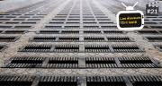 Les caillebotis Ecosol sont en béton rainuré et comprennent des inserts en caoutchouc antidérapants. Photo : Anders béton