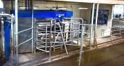 Le DeLaval VMS 300 est en fonctionnement depuis 6 mois au Gaec de la Motte Comté. CP : Gaël Landais