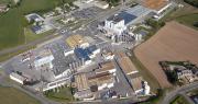 Actuellement, le site de Créhen est consacré à la fabrication de fromages à pâte fraîche et d'ingrédients secs. Photo: Laïta