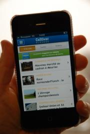 Cultivar élevage est disponible sur App'Store et Google Play.