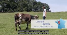 En Vendée, Laurent Charrier a repris l'exploitation familliale après avoir passé plus de dix ans dans l'enseignement agricole.