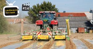 80% des surfaces de maïs sous plastique sont semés dans le quart nord-ouest de la France. Photo N. Tiers/Pixel image