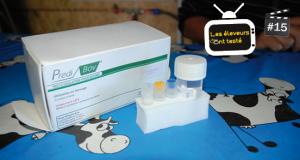Les tests Predi'Bov sont commercialisés par les vétérinaires et les coopératives d'insémination. Photo N. Tiers/Pixel image.