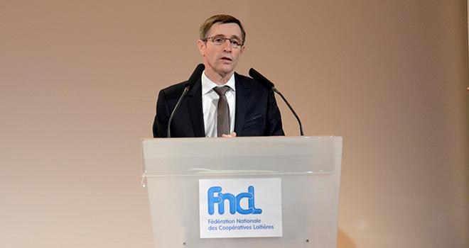 Dominique Chargé a demandé l'implication des pouvoirs publics dans la réglementation des marchés. Crédit: A. Cotens/Pixel Image