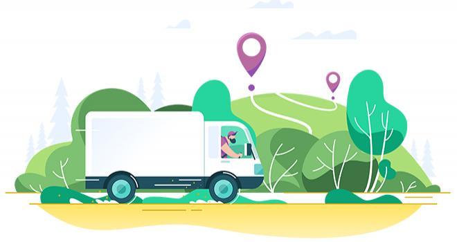 Sur la bourse du fret des circuits courts, tout professionnel de l'alimentaire peut trouver une solution de transport pour ses produits locaux, que ce soit pour une livraison simple ou la mise en place d'une tournée. © Nataliya Kalabina/Adobe Stock