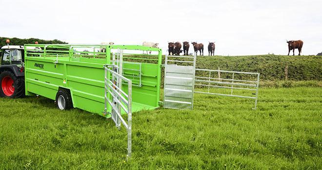 Une nouvelle gamme de bétaillère chez Joskin. Photo: Joskin