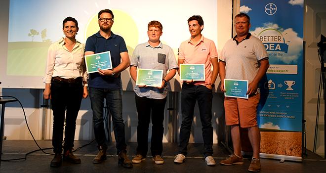 Better idea : Cinq agriculteurs récompensés.