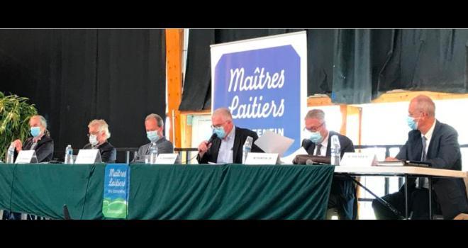 Une collecte laitière en hausse pour Les Maîtres laitiers du Cotentin. CP : DR