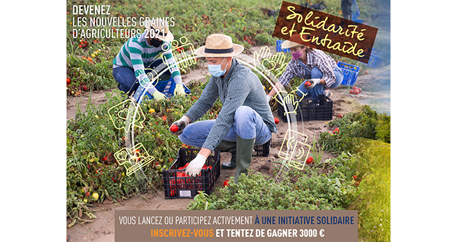 Les inscriptions au concours Graines d'agriculteurs sont lancées ! ©DR