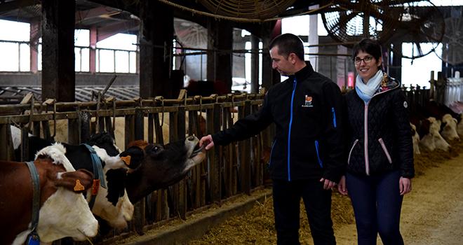 [Témoignage] Ils transforment 6 % de leur lait en yaourt. ©Né d'une seule ferme