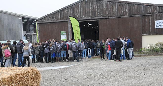 Le jeudi 19 octobre 2017, Arvalis organise sa Journée technique fourrage et engraissement à la ferme expérimentale professionnelle Lorraine Arvalis de Saint-Hilaire-en-Woëvre. Photo : Arvalis