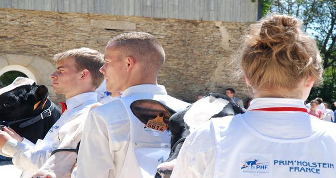 30 jeunes de 16 à 25 ans ont participé à la 8ème édition de l'Ecole des jeunes éleveurs à Ploërmel. Photo : Nathalie Tiers/Pixel image.