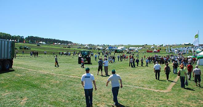 Cette année, le Salon de l'herbe et des fourrages se déroulera le 1er et 2 juin à Villefranche d'Allier. M. Lecourtier/Pixel Image