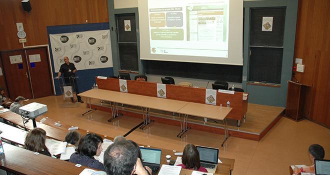 Agrisup Dijon a accueilli plus de 200 participants pour son colloque polyculture-élevage transition écologique. Photo : DR