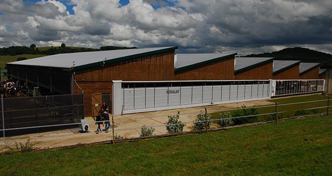 La SARL Novalait est la résultante de l'association de trois exploitations agricoles à Graffigny-Chemin (Haute-Marne). Photo : M. Lecourtier/Pixel image