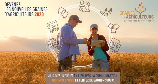 Les inscriptions pour le concours Graines d'agriculteurs sont ouvertes ! CP : DR