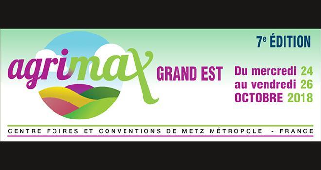 La 7e édition d'Agrimax se tiendra du 24 au 26 octobre au parc des exposition de Metz-Métropole.