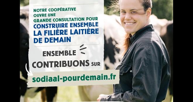 Sodiaal lance une consultation publique nationale. ©DR