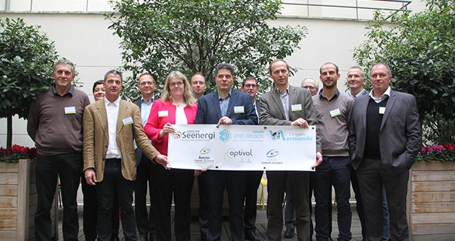 Seenergi, Origen Normande et Genes Diffusion créent une alliance pour booster leurs réseaux et leurs projets de recherche en génétique, développer un offre numérique pour les éleveurs et répondre aux besoins sociétaux. Photo : DR