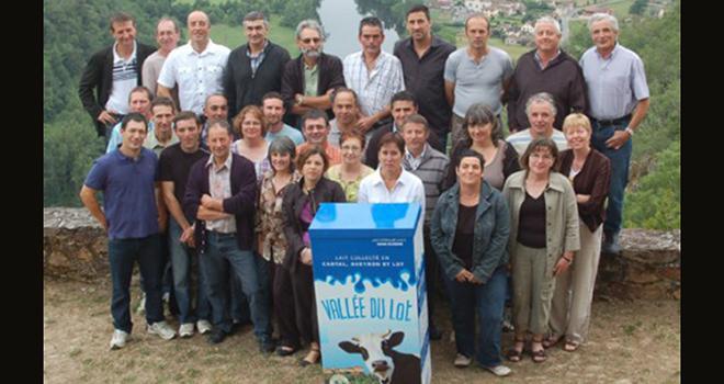 Les 26 producteurs de CantAveyLot représentent au total 9 millions de litres de lait. Photo: DR