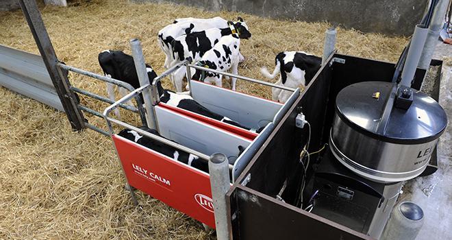 Lely lance un nouveau distributeur de lait. Photo: Lely