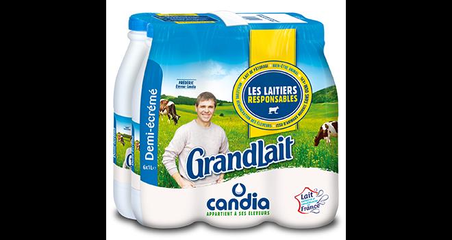 Sodiaal espère commercialiser 200 millions de litres de lait  « Les Laitiers Responsables » par an. Photo : DR