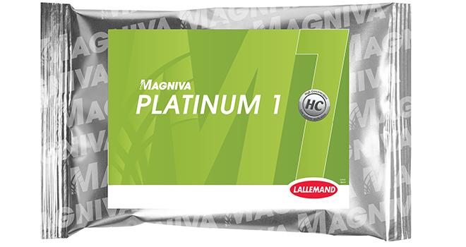 Lallemand Animal Nutrition vient d'annoncer le lancement de Magniva Platinum 1, un nouvel inoculant. © Lallemand