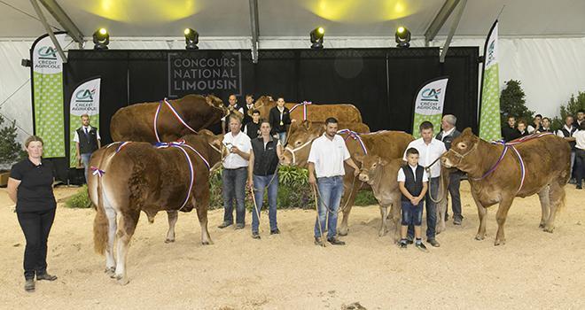 Rendez-vous du 20 au 22 septembre à Périgueux pour le Concours national Limousin ! © DR
