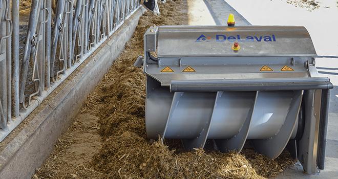 DeLaval annonce efficacité alimentaire supplémentaire de 5%.