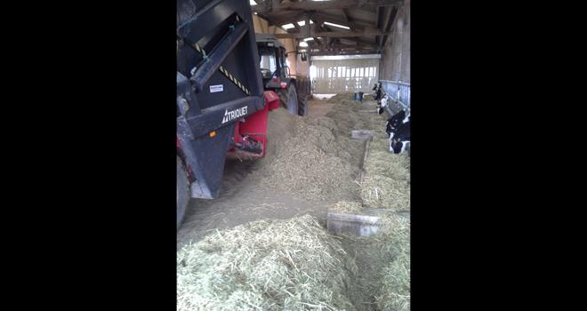 La ferme expérimentale des Trinottières, spécialiste de l'alimentation des bovins, se modernise. Photo : Ferme des Trinottières