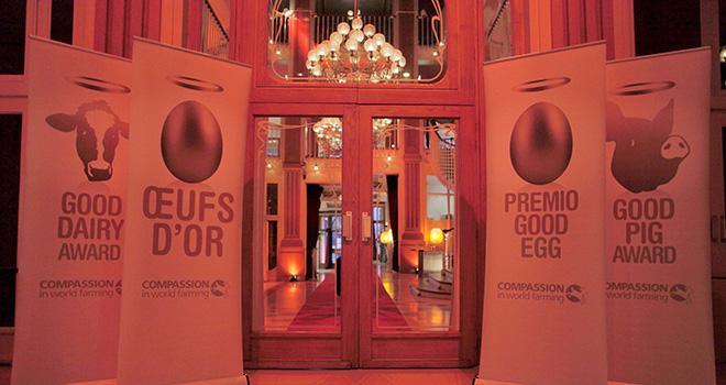 Chaque année, CIWF organise à Paris une cérémonie pour remettre ses Trophées du bien-être animal.