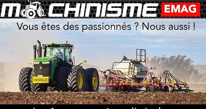 Machinisme e-mag : 100% machinisme, 100% numérique, 100% gratuit. Photo : DR