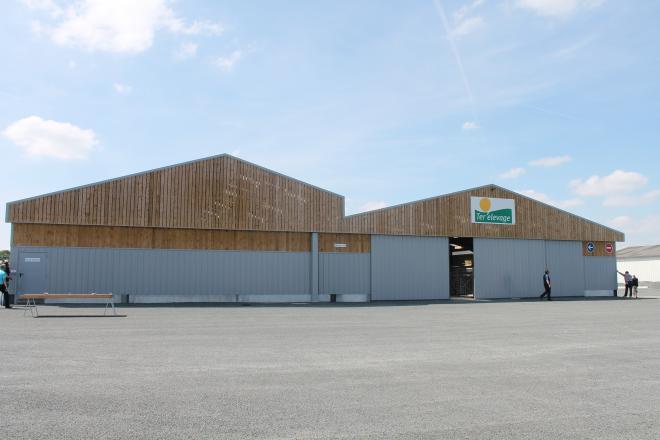 25 000 bovins transiteront chaque année sur le site de Saint-Laurent-sur-Sèvre en Vendée.